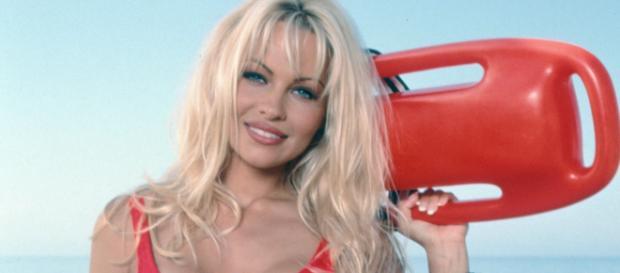 La modella americana Pamela Anderson ha attaccato Matteo Salvini