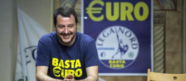 Matteo Salvini, ministro dell'interno e vicepremier.