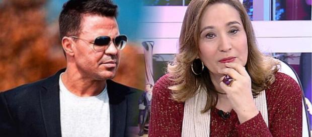Sonia Abrão e vários internautas criticaram duramente o cantor. (foto reprodução).