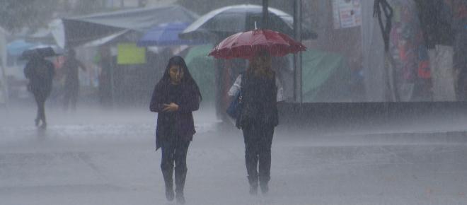 Servicio Meteorológico Nacional pronostica tormentas y caída de granizo en México