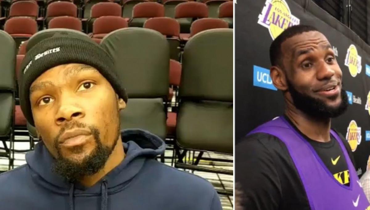 7d9b66cf677 Kevin Durant explains why no other star player wants to team up with LeBron  James