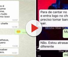 Prints de conversas de WhatsApp engraçadas. (Foto: Reprodução Internet)