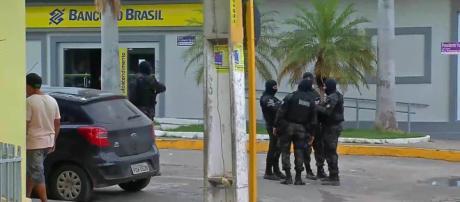 Os bancos envolvidos no assalto foram o Banco do Brasil e o Bradesco. (Reprodução)
