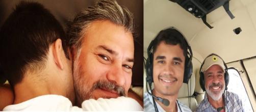 Clebson Teixeira e Lulu Santos (Reprodução/Instagram) Leonardo Vieira e namorado (Reprodução/Instagram)