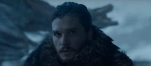 Kit Harrington plays Jon Snow on the show. - [GameofThrones / YouTube screencap]