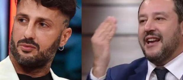 Fabrizio Corona si scaglia contro Matteo Salvini.