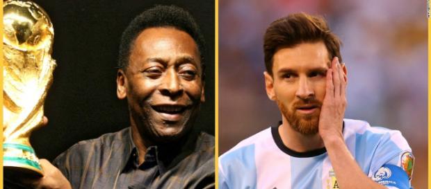 Pelé gelang es die Weltmeisterschaft zu gewinnen - Messi hingegen noch nicht - huapzau.com