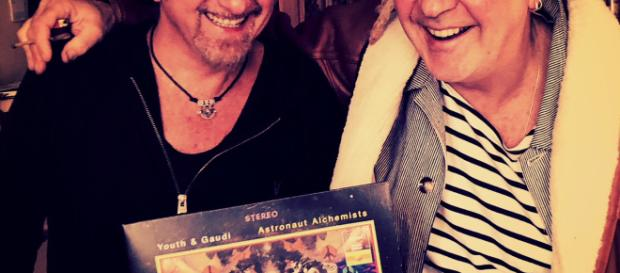 Producers Youth & Gaudi launch Astronaut Alchemists. Image credit: Supplied/triskelemanagement