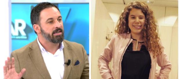 Santiago Abascal y Carla Vigo en imagen