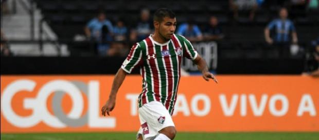 Sornoza pode trocar o Flu pelo Corinthians em 2019 (Reprodução: Alexandre Durão)