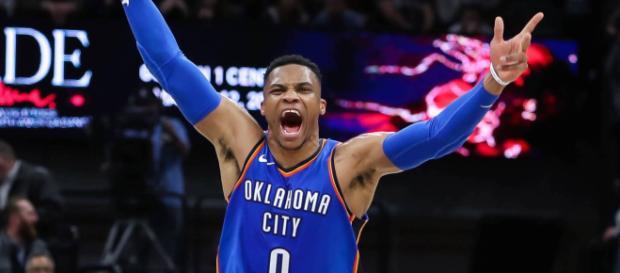 Triple double de moyenne - Russell Westbrook l'a fait - lasueur.com
