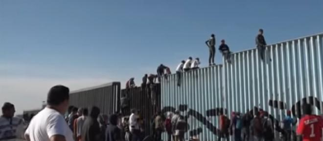 US-Mexico Border Wall: Honduran woman scales wall to give birth to a son in San Diego