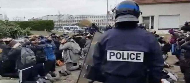 Mantes-la-Jolie : la vidéo de l'arrestation des lycéens fait polémique