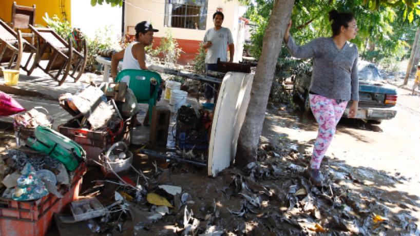 López Obrador se reunirá con damnificados por el huracán Willa en Nayarit