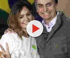 Bolsonaro diz que depósito de ex-assessor do filho na conta de Michele foi para pagar dívida. (divulgação).