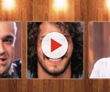 Evandro, João e Rafael disputam a preferência do público. (Reprodução/R7)