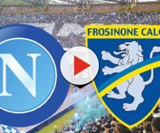Live Napoli-Frosinone: info tv-streaming e probabili formazioni
