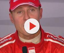 Michael Schumacher at a press conference back in 2006. Photo: screencap via FORMULA 1/ YouTube