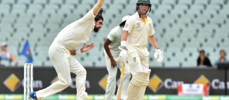 Australia v India, 1st Test, Adelaide,3rd day .(Image via BCCI/TwitteR)
