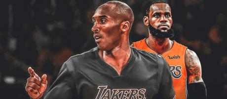 Kobe Bryant and LeBron James / Image by Clutchpoints / Instagram