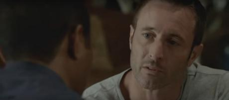 """Steve (Alex O'Loughlin) is sure that the mission in fall finale of Hawaii Five-O is only for """"me and Joe."""" [Image source:TVPromos-YouTube]"""