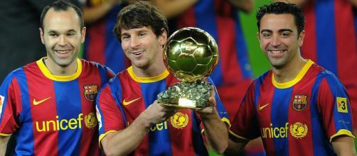 Cups Lionel Messi FC Barcelona la liga Xavi Hernandez Iniesta ... - wallpaperup.com