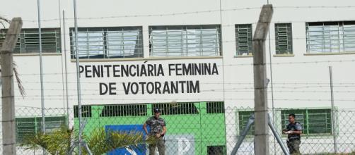 Mulher acusada está presa em Votorantim (Reprodução)