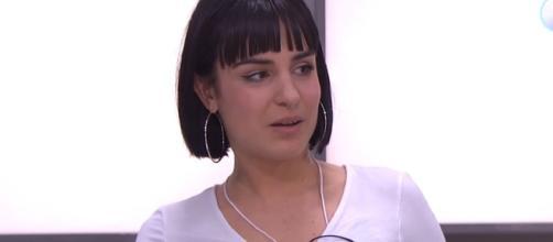 Natalia, en la clase de Los Javis. / YouTube