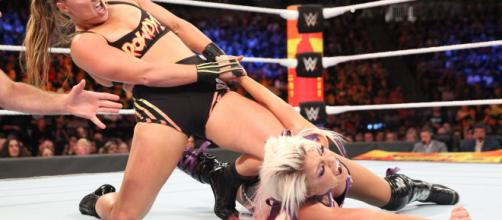 Ronda Rousey thoroughly thrashes Alexa Bliss: SummerSlam 2018 (WWE ... - wwe.com
