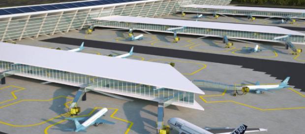 El aeropuerto de Santa Lucía ofrecerá mejores servicios a los viajeros. - com.mx
