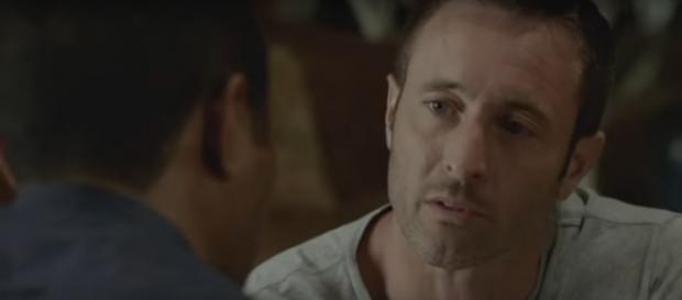 "Steve (Alex O'Loughlin) is sure that the mission in fall finale of Hawaii Five-O is only for ""me and Joe."" [Image source:TVPromos-YouTube]"