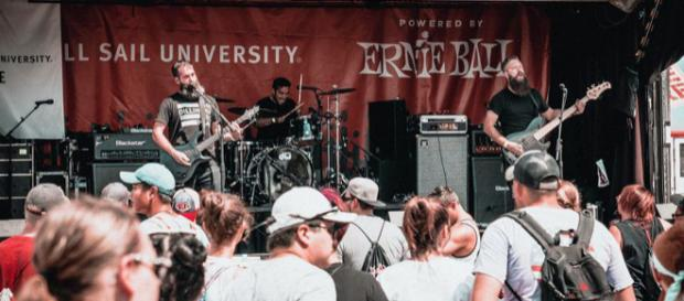 To Whom It May rocking the Van's Warped Tour (Photo used by written permission)