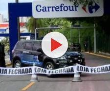 Manifestantes protestaram contra a morte de Manchinha (Reprodução/ André Emateguy/Globo)