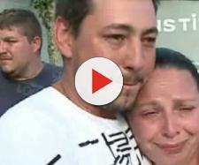 Silvano e esposa, homem que ficou preso após reagir a um assalto. (RIC TV)