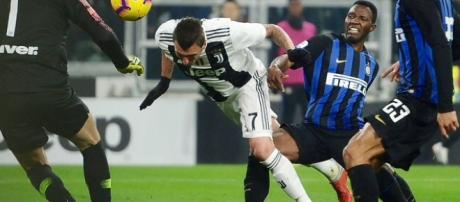 Juventus-Inter 1-0: la rete decisiva è di Mandzukic - corriere.it