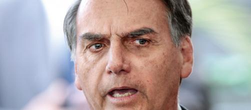 Bolsobaro fala em fake news da revista Veja (Foto: Cristiano Mariz/VEJA)