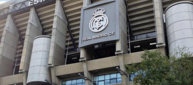 Estadio Santiago Bernabeu en Madrid