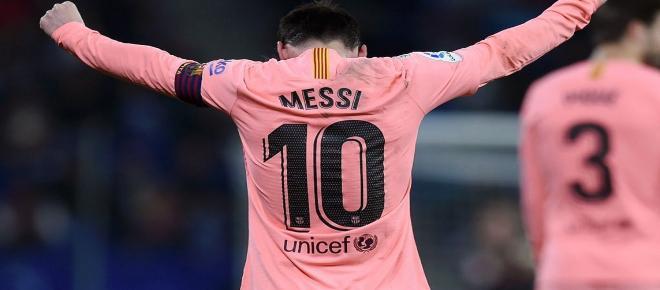 La zurda mágica de Leo Messi derrota al Espanyol