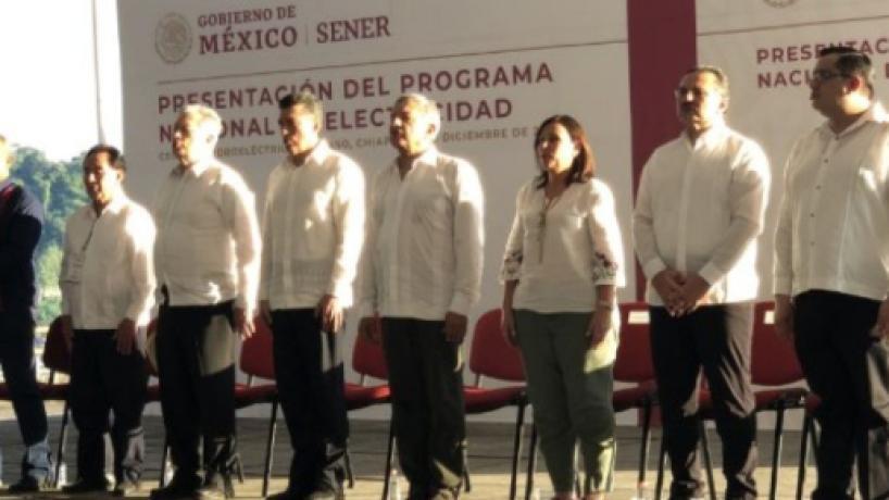López Obrador anunció Plan Nacional de Electricidad