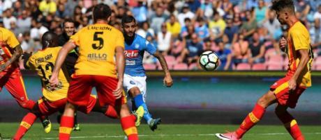 Benevento Napoli probabili formazioni