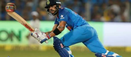 Kohli leads with splendid century as India win. Image credit-Screen shot Youtube.com