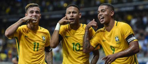 El tridente ofensivo de Brasil que causa temor para Rusia 2018.