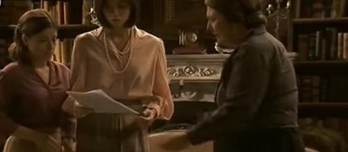 Il Segreto, una scena della soap
