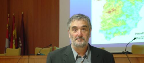 Luis Quindós, director del Grupo Radón de la UC (dicyt.com)