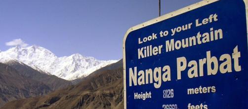 "Nanga Parbat la montagna ""killer"""
