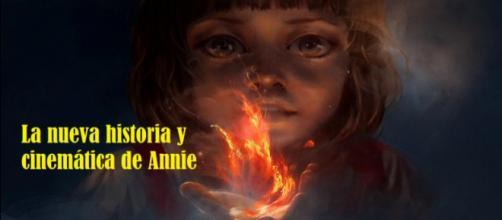 Nueva historia y cinemática de Annie