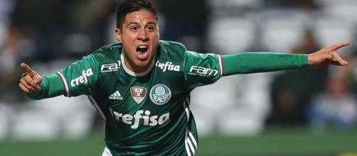 O atacante já foi estrela do Palmeiras