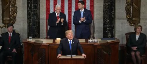President Trump is defying the FBI and DOJ and releasing the memo [Image via CBS News / YouTube Screencap]