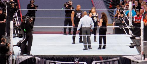 Ronda Rousey is expected to appear at 'WrestleMania 34.' / Photo via Miguel Discart, Flickr CC