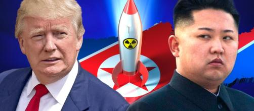 Trump would like a'limited strike' on the North. Photo-( image credit The Daily conversation/YouTube-)